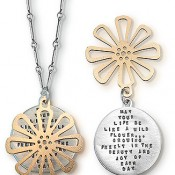 Kathy Bransfield Wildflower Necklace