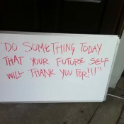 do something your future self