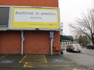 Anything Is Possible Billboard
